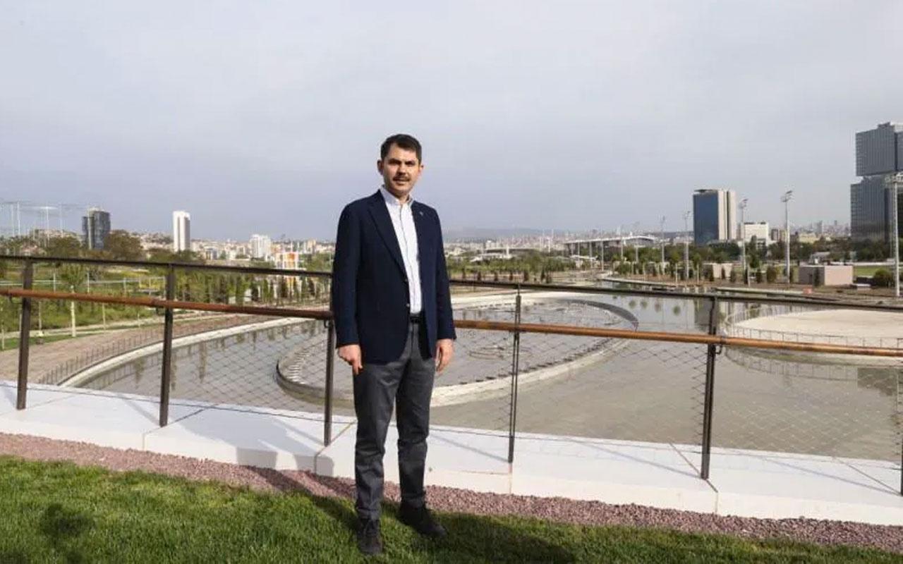 Bakan Murat Kurum tarih açıkladı! Central Park gibi olacak Erdoğan açılışını yapacak