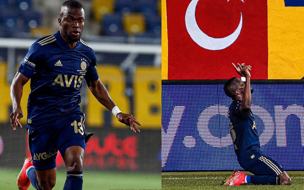 Enner Valencia uzatmalarda Fenerbahçe'ye hayat verdi eşi gözyaşlarına boğuldu