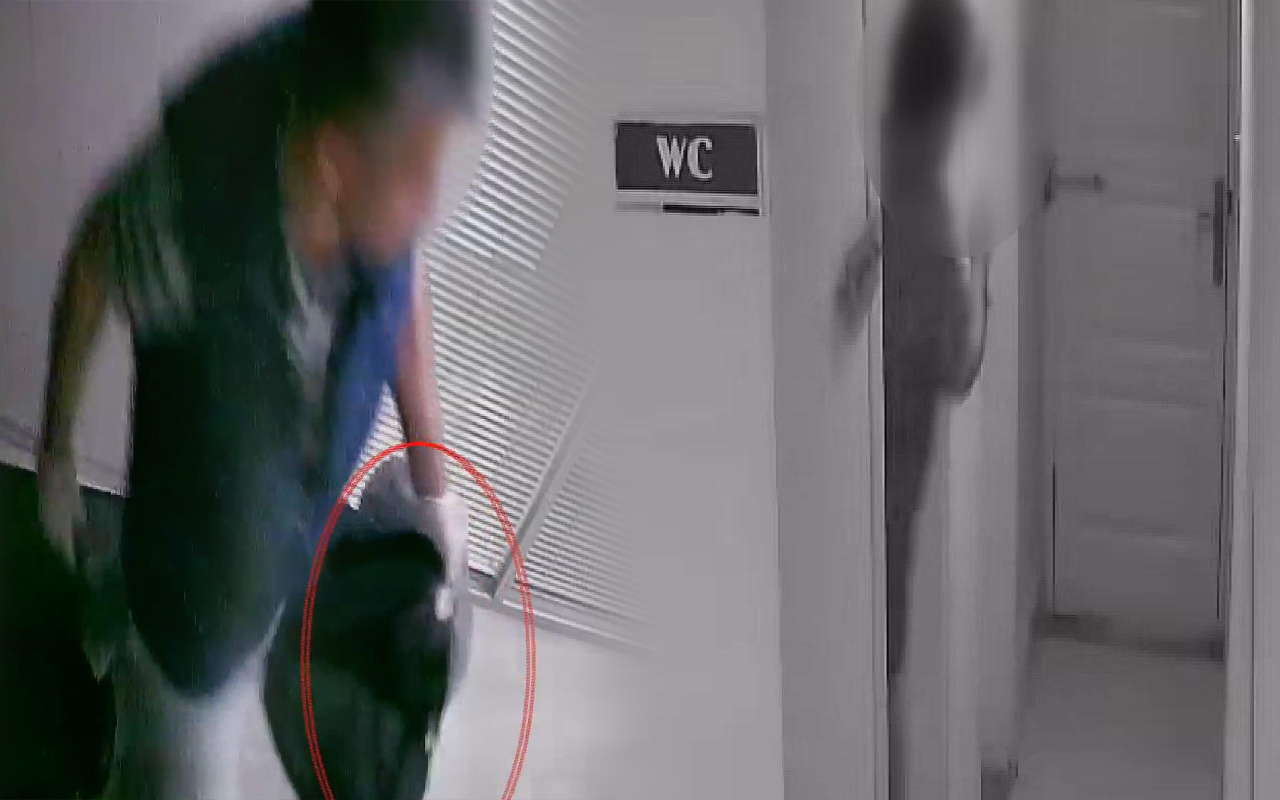 Kamerada ortaya çıkınca itiraf etti! İstanbul'da muhasebecinin tuvalet planı suya düştü