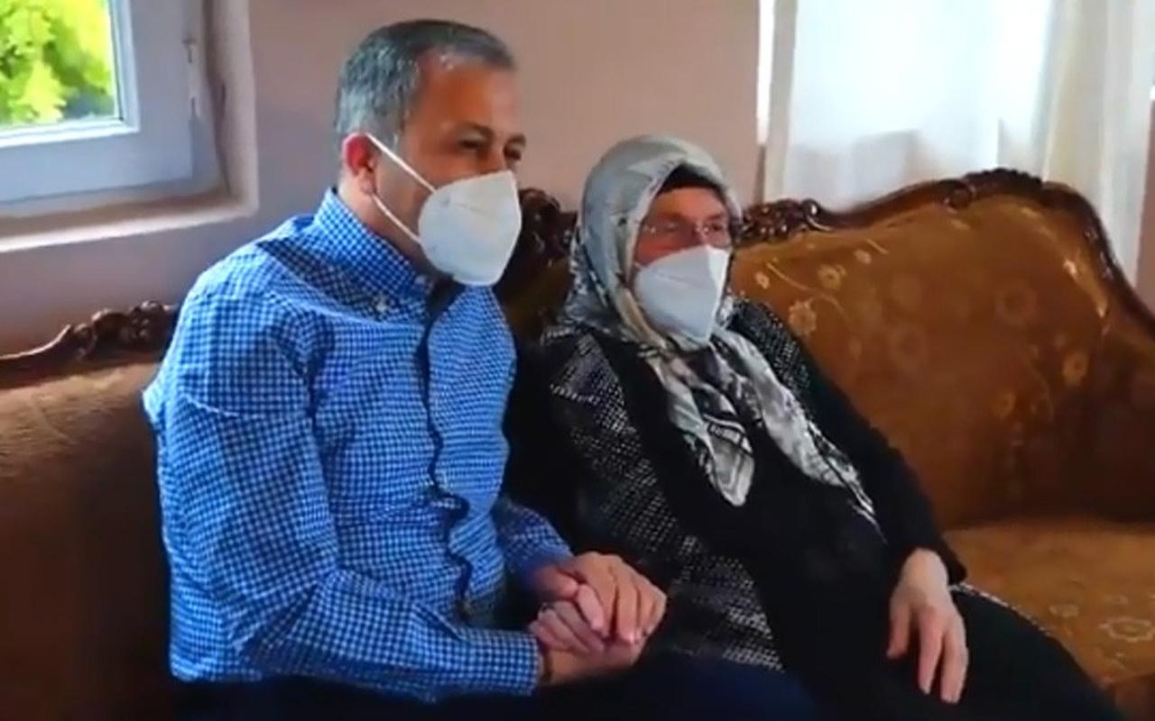 İstanbul Valisi Ali Yerlikaya'dan 17 yıldır muhtarlık yapan Şafak Karakeskin'e ziyaret