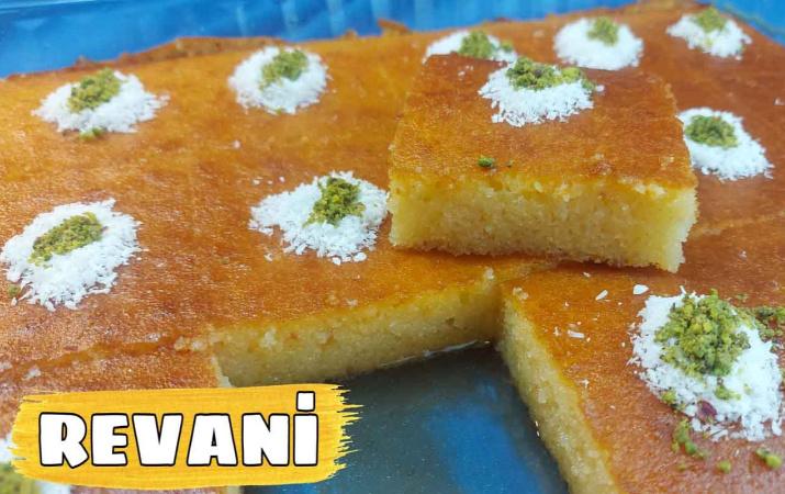 Revani nasıl yapılır eşsiz lezzet!