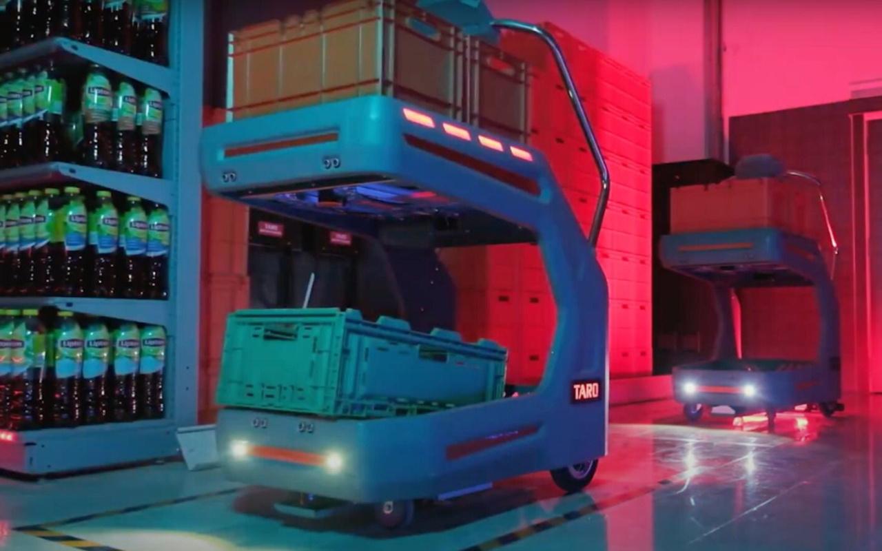 Migros robot TARO ile siparişleri 5 kat hızlı hazırlayacak