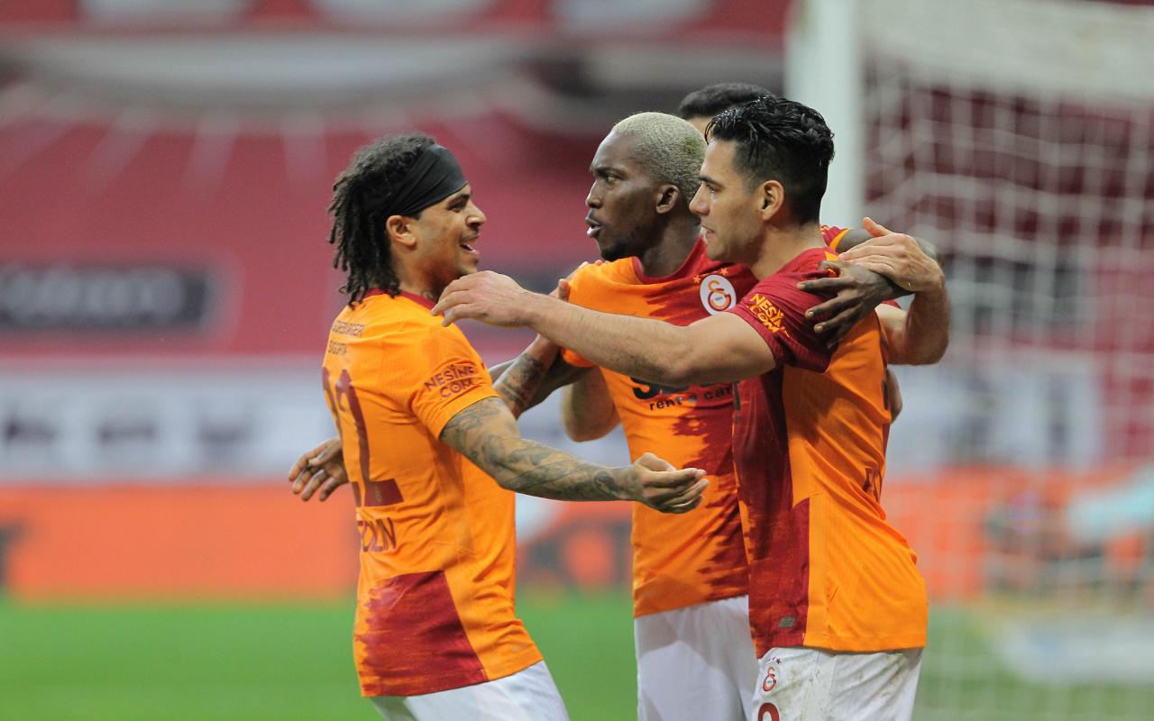 Galatasaray'da Falcao şoku ve Muhammed sürprizi