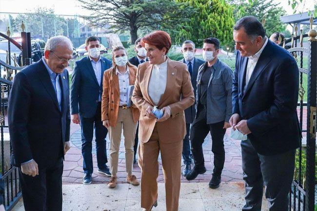 Kemal Kılıçdaroğlu ve Meral Akşener iftarda buluştu