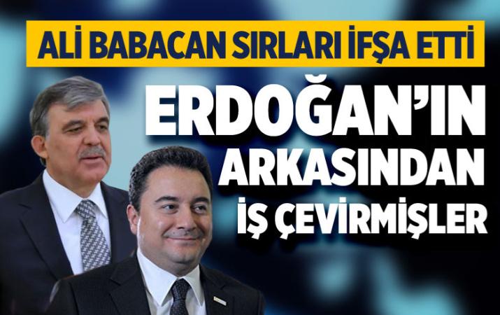 Ali Babacan'dan şok Abdullah Gül itirafı! 'Oradaydım' deyip anlattı
