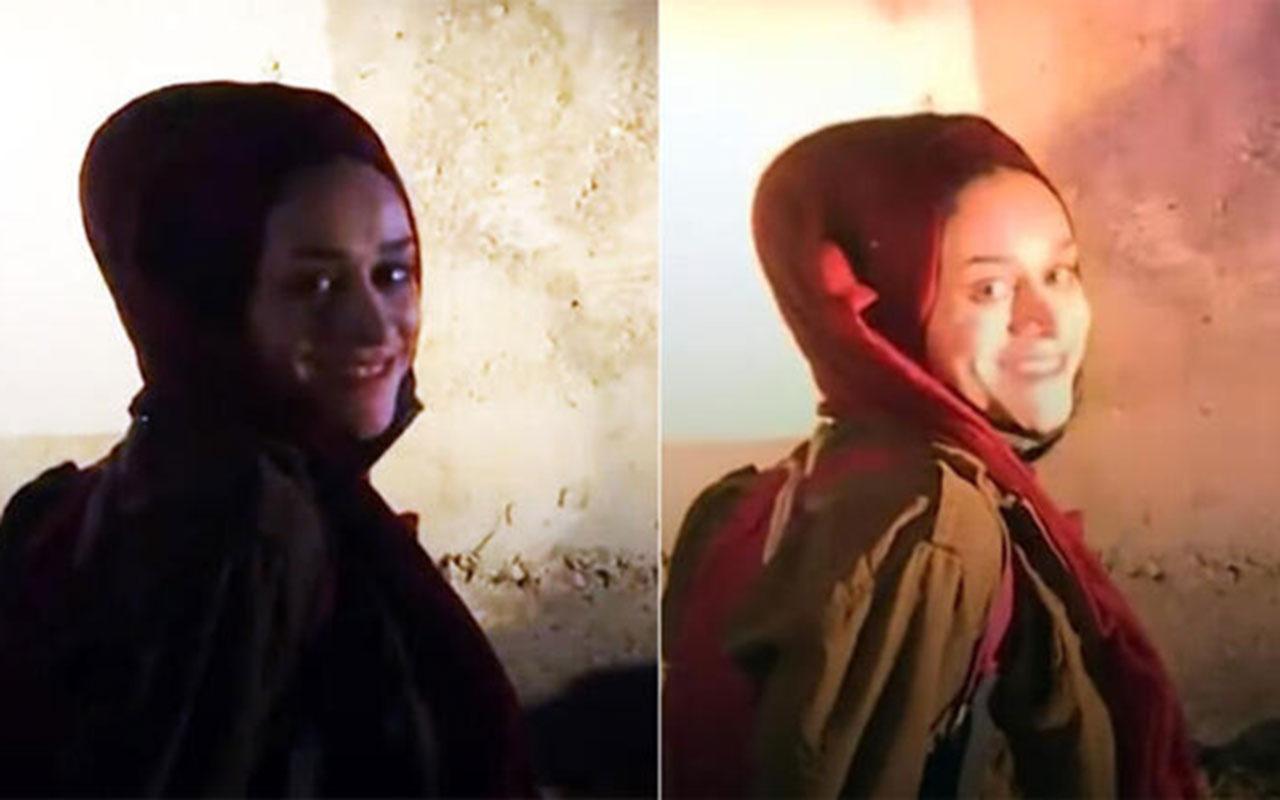 Mescid-i Aksa'da İsrail zulmü! Yüzlerce kişi yaralandı Filistinli kızın gülüşü tarihe geçti