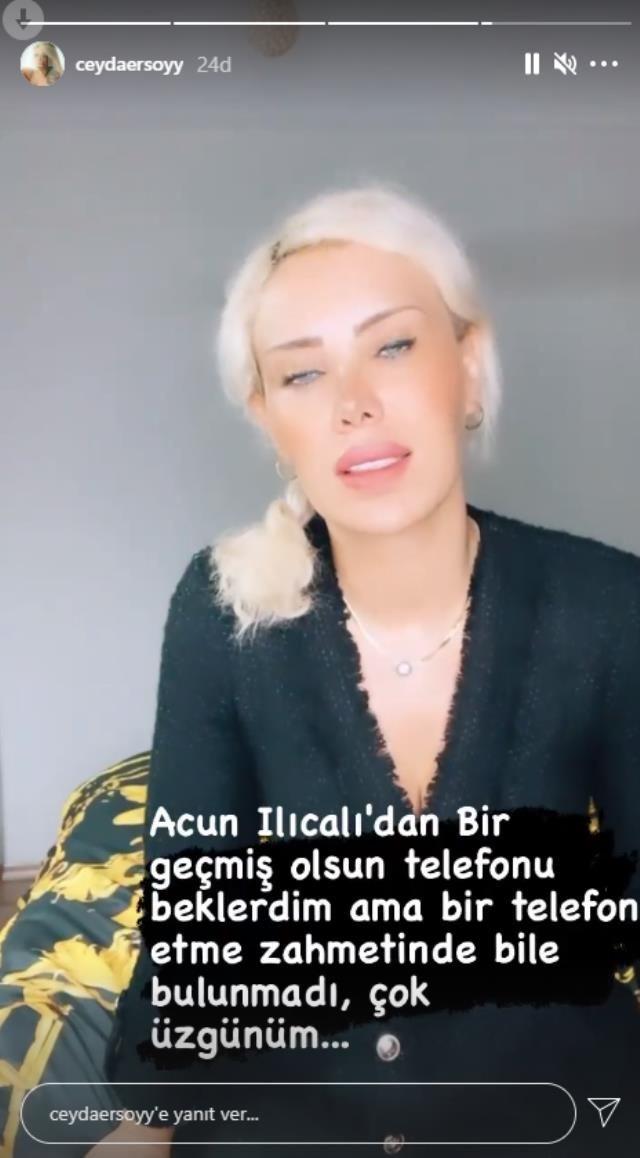 İntihar eden Ciciş Ceyda Ersoy'dan olay açıklama Acun Ilıcalı iş vermediği için denmişti