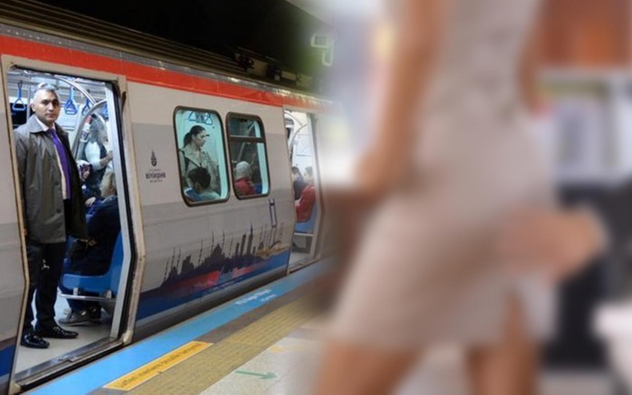 İstanbul'da metroda iğrenç olay! Çığlık atarak kurtuldu: Bacaklarıma...