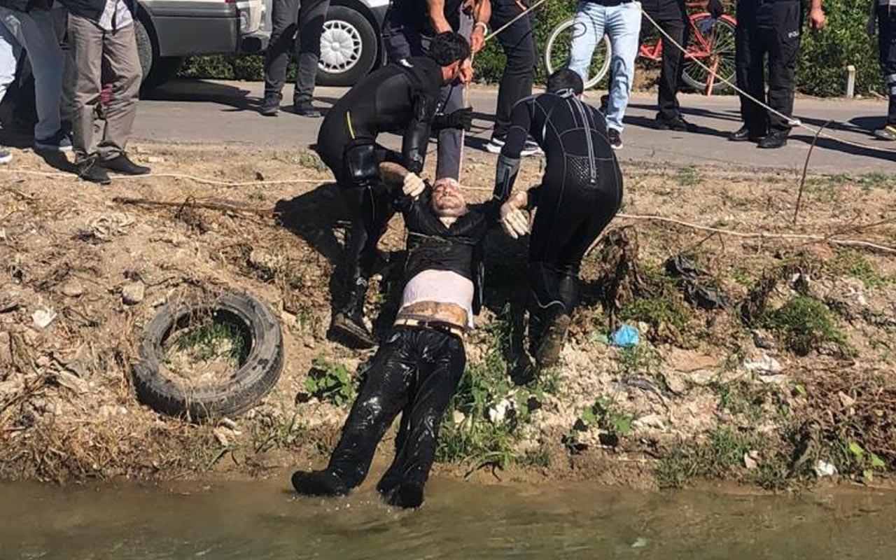 Adana'da 'Ölümü hak ettim' notu bırakan kişi sulama kanalında ölü bulundu