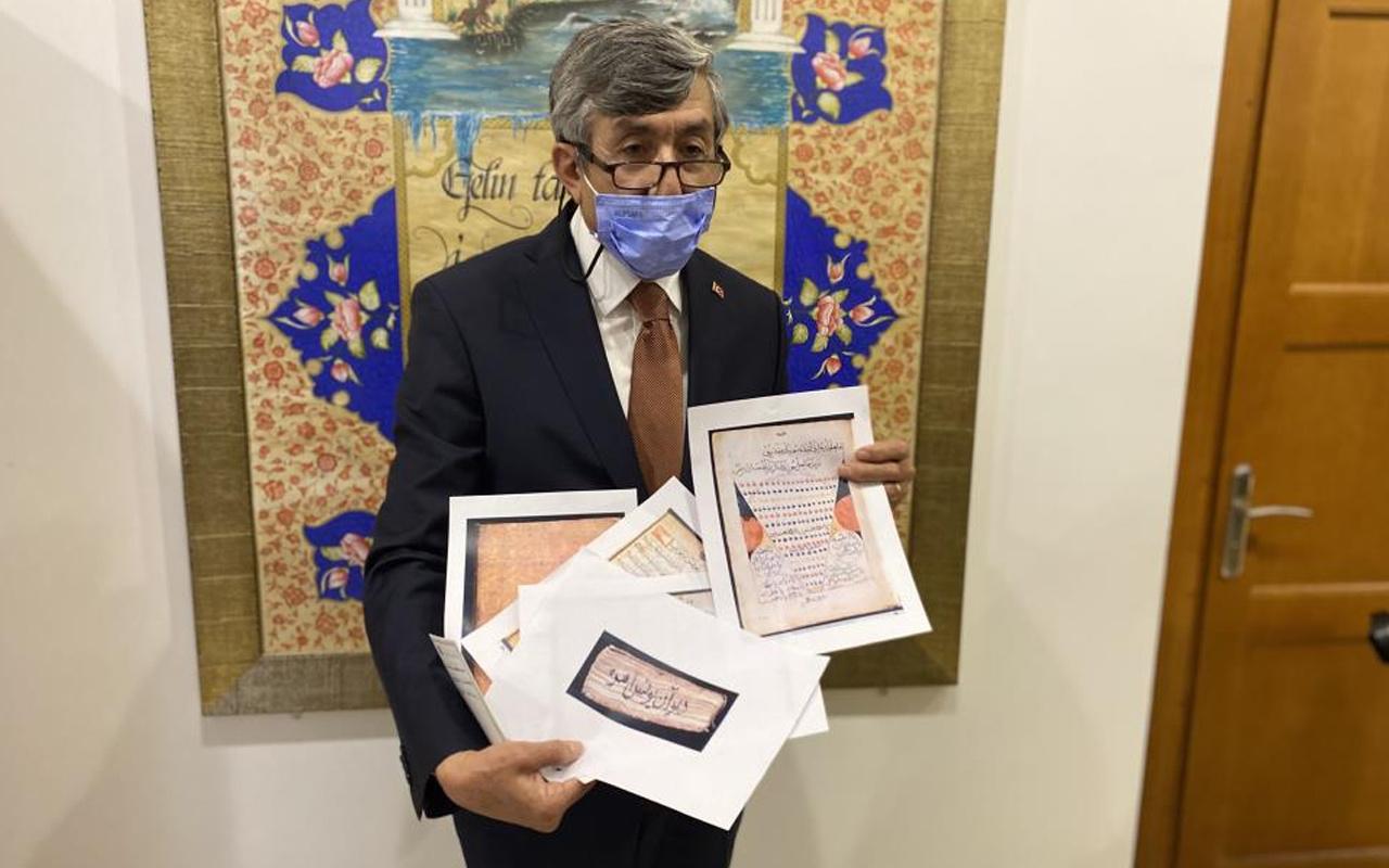 Vatikan arşivinde ilk kez gün yüzüne çıktı! Yunus Emre'ye ait