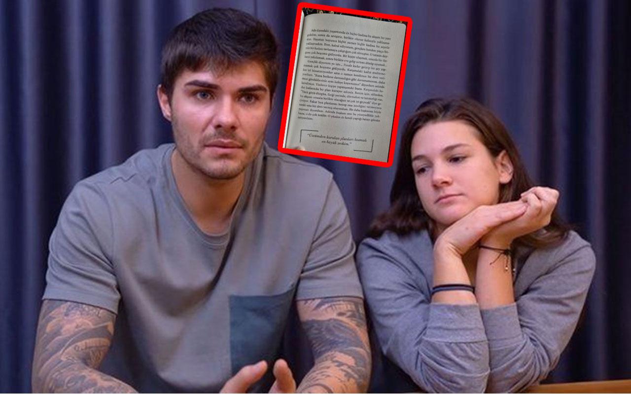 Barış Murat Yağcı'nın kitabında kadınlarla ilgili yazdıkları olay! Nisa Bölükbaşı ayrıldı