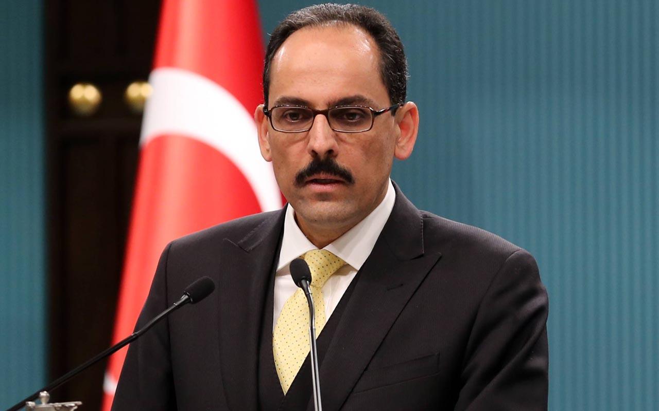 Cumhurbaşkanlığı Sözcüsü İbrahim Kalın'dan İsrail'e tepki: Mescid-i Aksa'yı derhal terk etmelidir