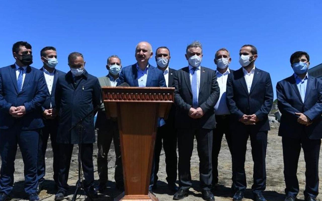 """Bakan Karaismailoğlu: """"Rize İkizdere'de oynanan oyun sadece taş ocağı ve çevre hassasiyeti değil"""