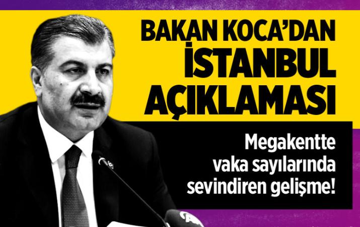İstanbul'da vaka sayısında büyük düşüş yaşandı