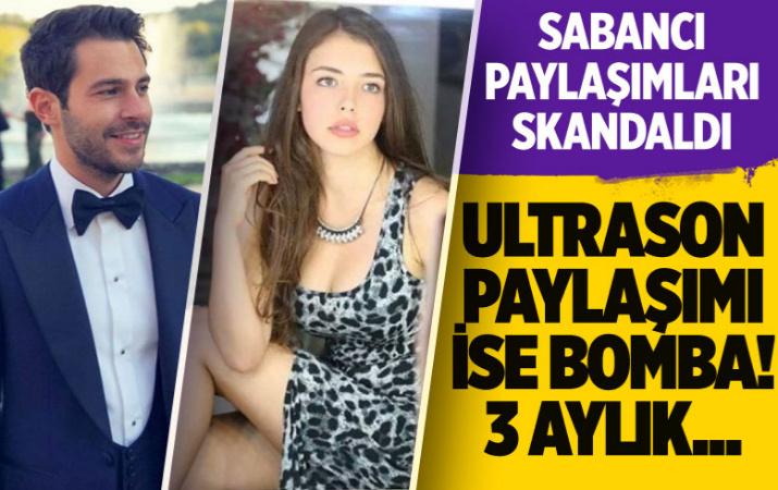 Hakan Sabancı'ya küfürler savuran Aygün Aydın ultrason görüntüsü paylaştı 3 aylık hamilelik...