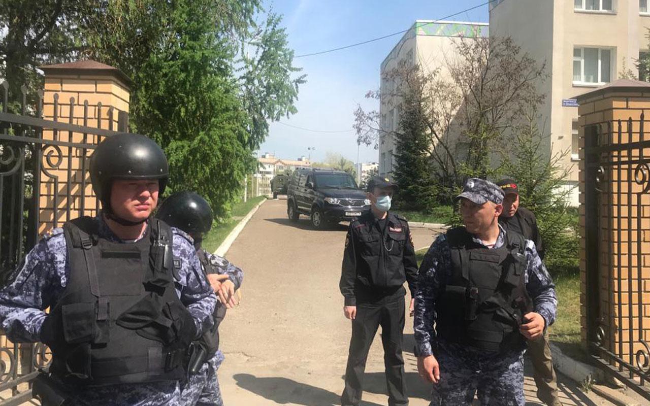 Rusya'da okula silahlı saldırı: Çok sayıda ölü ve yaralı var