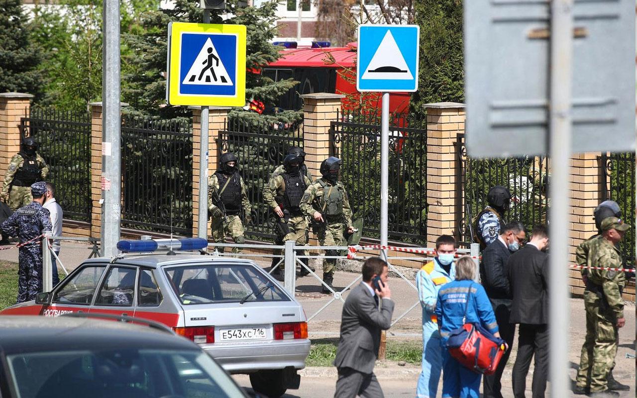 Rusya'da okula silahlı saldırı! 13 kişi hayatını kaybetti