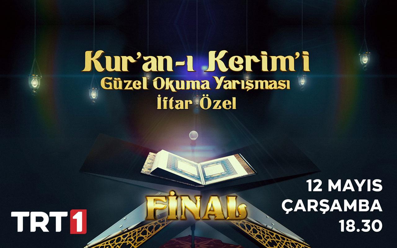 """TRT'nin, """"Kur'an-ı Kerim'i Güzel Okuma Yarışması""""nda  Final Heyecanı Yaşanacak"""
