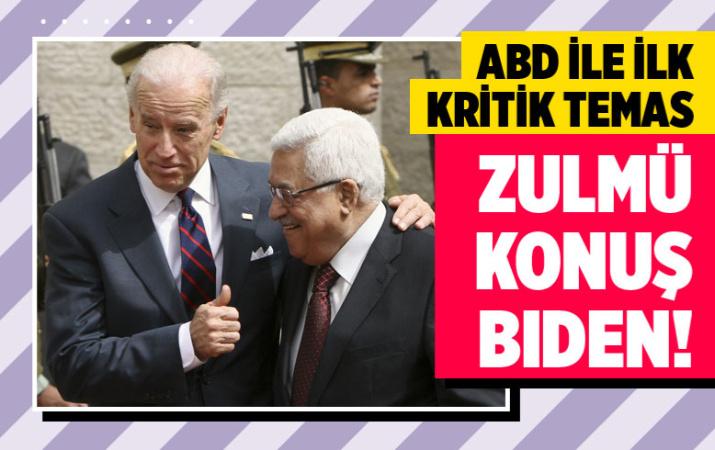 Biden'dan Filistin lideri Abbas'a mesaj!