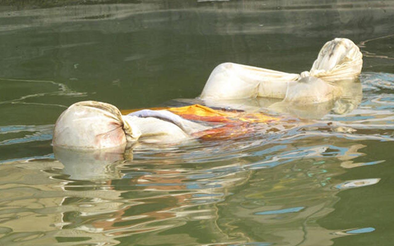 Hindistan Ganj Nehri'nde korkutan görüntü! Covid-19'dan ölen 71 kişinin cesedi kıyıya vurdu