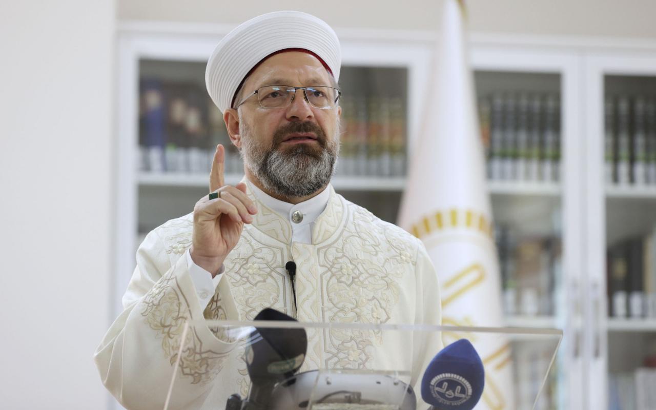 Ali Erbaş: Kudüs için ortak eylem planı hazırlamalıyız