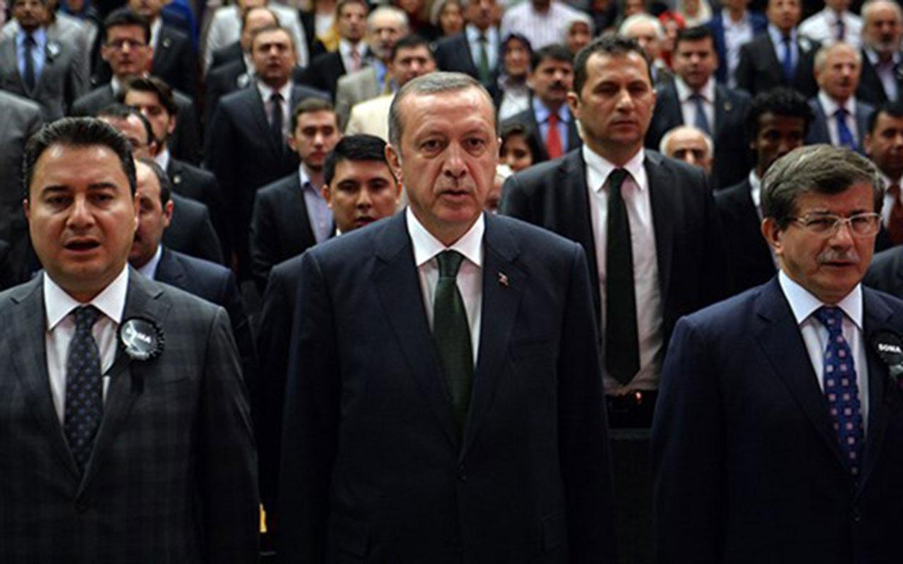 Ali Babacan'dan sonra ve Ahmet Davutoğlu'nun imzası ifşa oldu! Siyasi ikiyüzlülük...