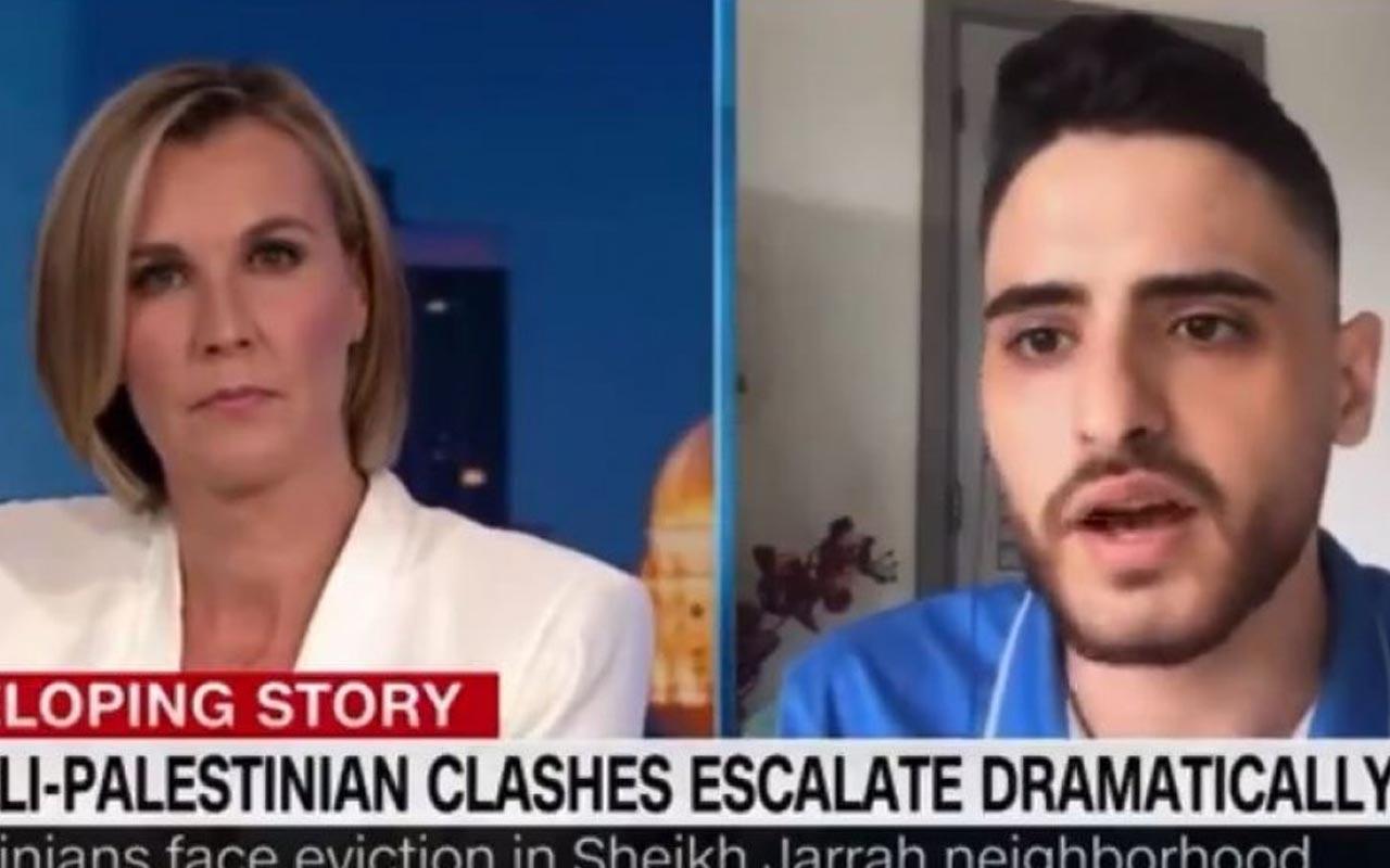CNN sunucusu ile Filistinli genç arasındaki diyalog sosyal medyada gündem oldu