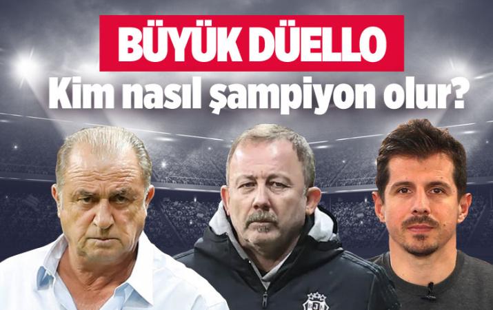 Süper Lig'de zirvede dengeler değişti! Kim nasıl şampiyon olur?