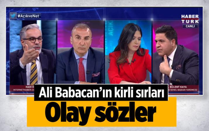 Habertürk'te Ali Babacan tartışması!