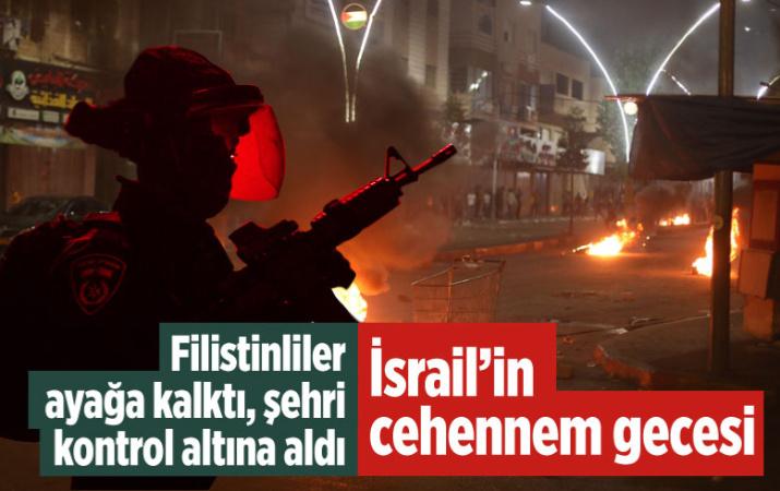 İsrail'in cehennem gecesi! İntifada yayılıyor