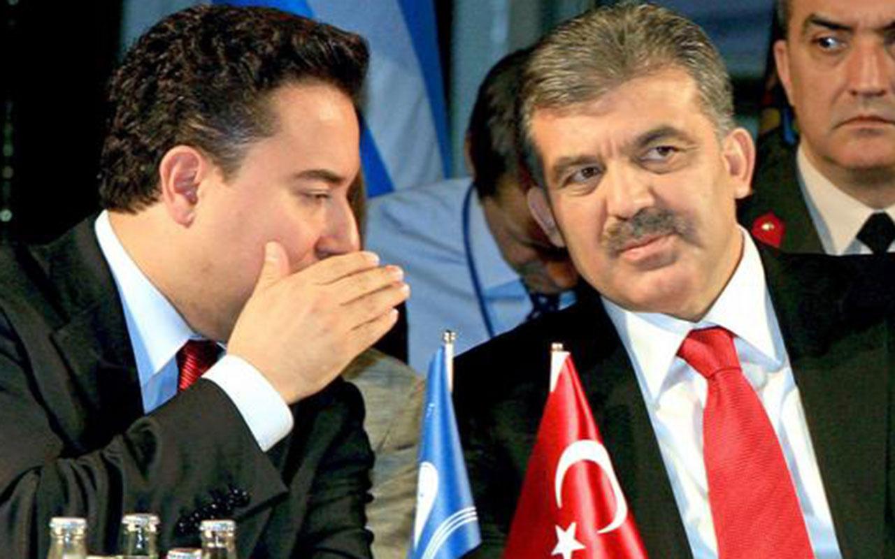 Abdullah Gül adına 'ortak aday' temaslarını Ali Babacan yürütmüş! İki görüşmede de var