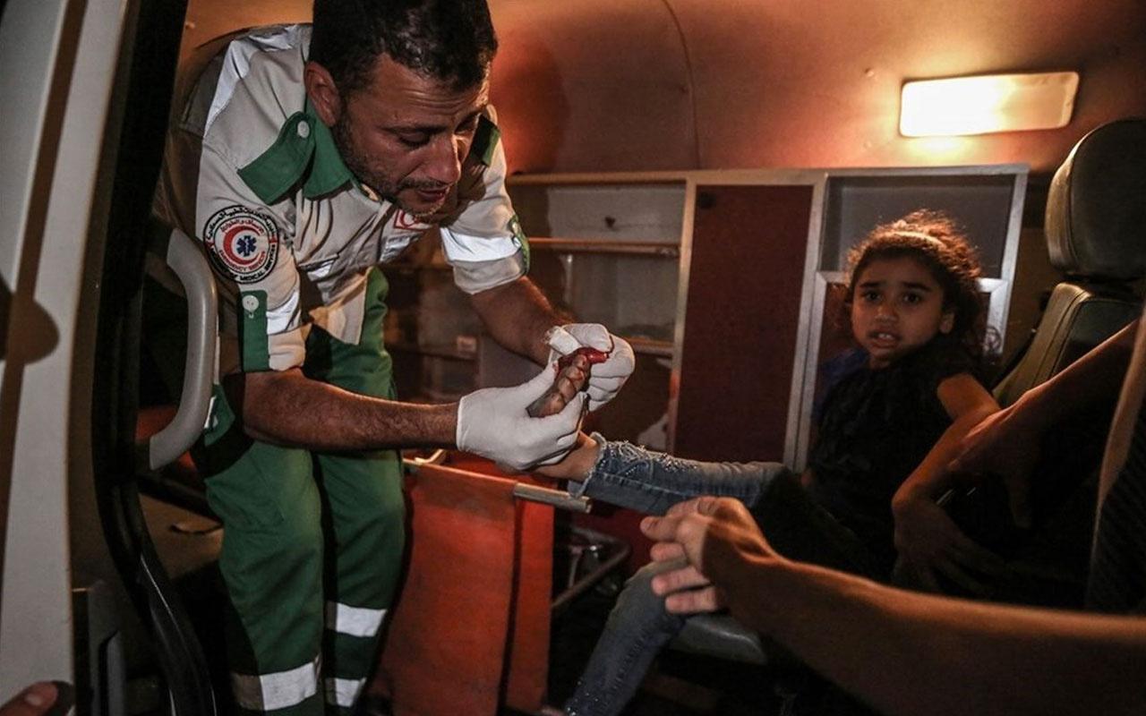 İsrail'in Gazze'ye saldırıları sürüyor: Can kaybı 50'yi geçti 320 kişi yaralandı