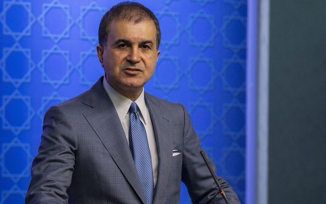 """AK Parti Sözcüsü Ömer Çelik'ten """"Irkçılık ve işgal sözlüğü"""" paylaşımı"""