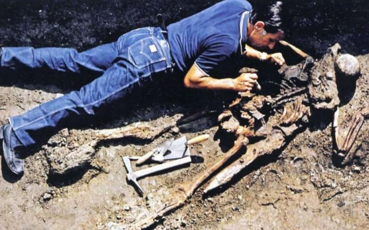 Vezüv Yanardağı patlaması! '26 numaralı iskeletin' gizemi çözüldü dikkat çekici ayrıntılar