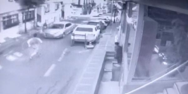 Boşanma aşamasındaki eşini kaçırmaya çalıştı, yakınlarını otomobille ezdi