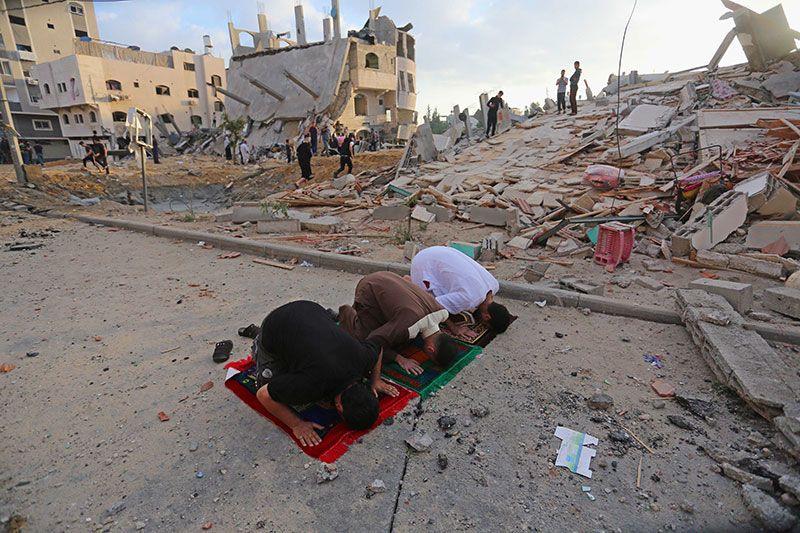 Gazze'de şehit sayısı yükseliyor! Gazze'de camilerde bayram namazı kılınamadı