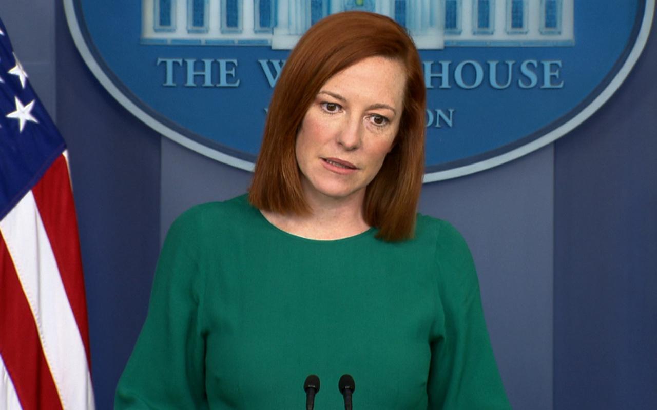 Beyaz Saray Sözcüsü Psaki ısrarlı sorulara rağmen İsrail'i kınamaktan kaçındı