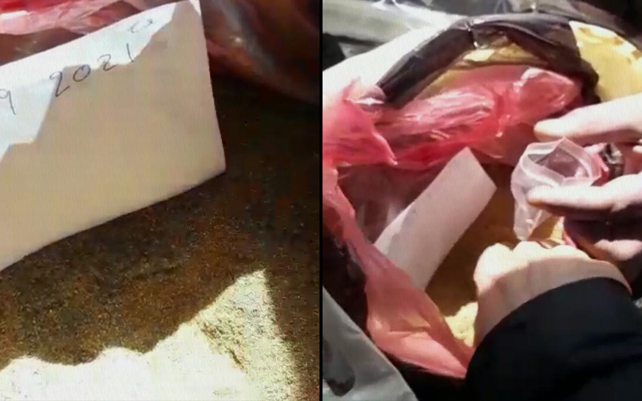 Kırşehir'de pirinç tozunu altın tozu diye satmaya çalışan 3 zanlı gözaltına alındı