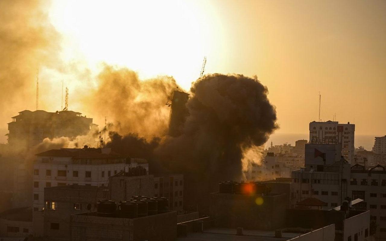 Filistin'de zehirli gaz şüphesi! Bakanlıktan korkutan açıklama