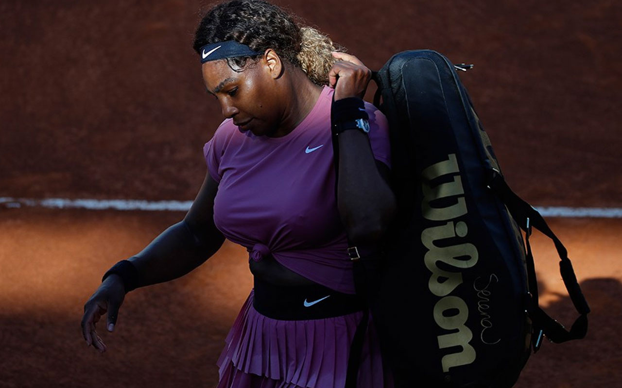Serena Williams, İtalya Açık'a erken veda etti