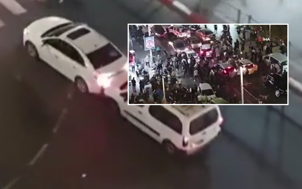 Fanatik Yahudiler bir sürücüyü linç etti! Sürücü kanlar içinde kaldı