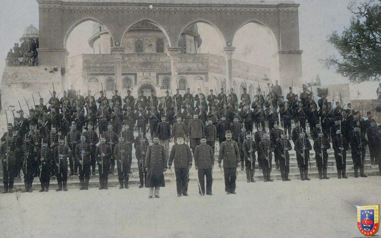 JandarmaGenel Komutanlığından Kudüs paylaşımı