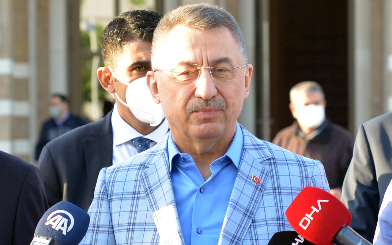 Cumhurbaşkanı Yardımcısı Fuat Oktay'dan İsrail'e 'terör devleti' tepkisi
