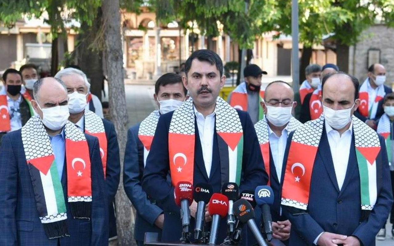 Bakan Murat Kurum: İsrail'in bu eylemleri yanına kalmayacaktır