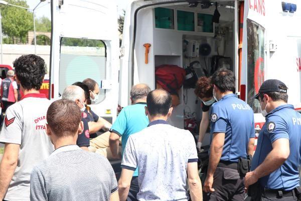 Diyarbakır'da hareketli saatler! Genç kızın intiharını önleyen polisler yere çelik yeleklerini serdi