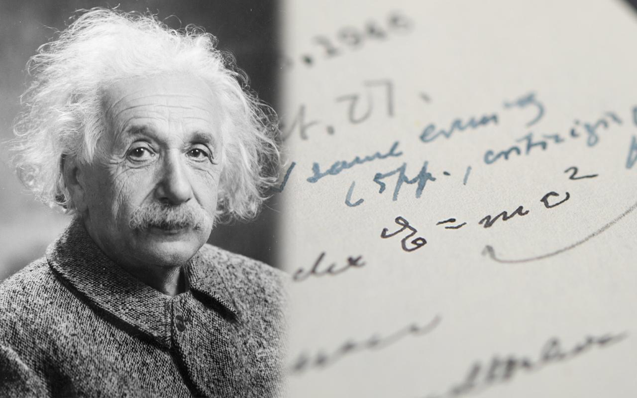 Albert Einstein'in E=mc²'li mektubu rekor fiyata satışa çıkıyor