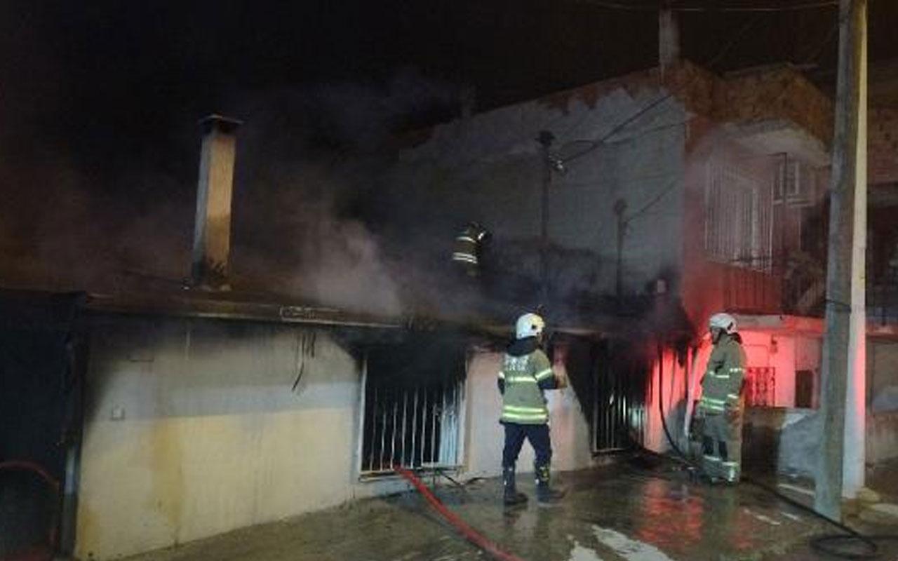 İzmir'de yaşandı! Babası uyurken evi ateşe verdi