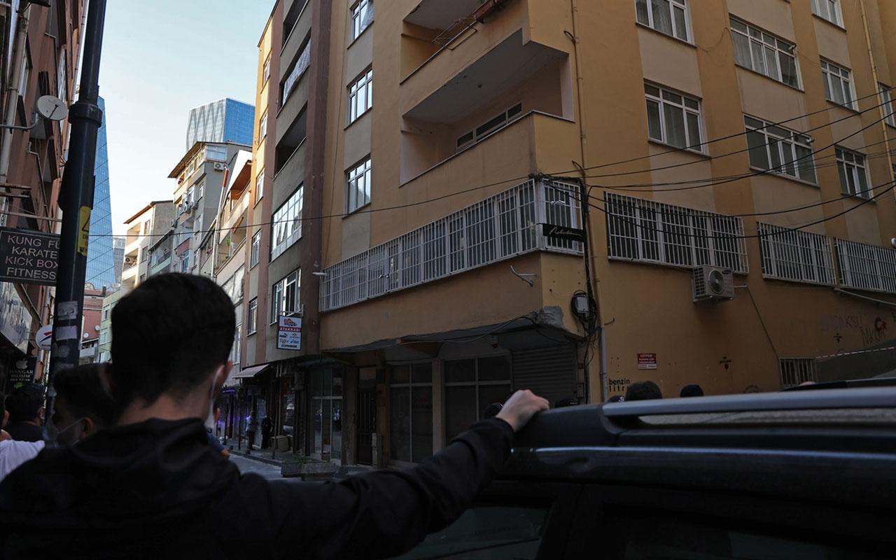 İstanbul'da 6 katlı bina boşaltıldı!