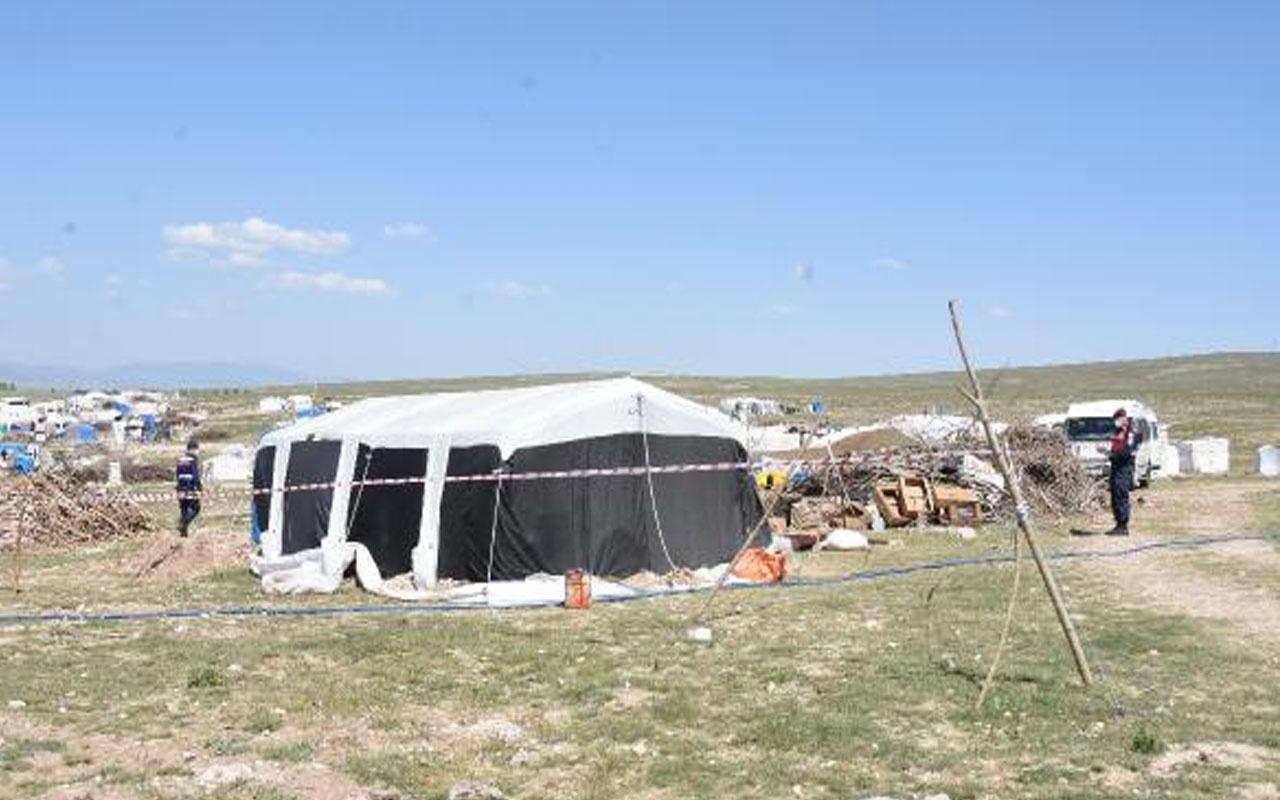 Şanlıurfa'dan Eskişehir'e geldiler! Mevsimlik işçi çadırına 'koronavirüs' karantinası