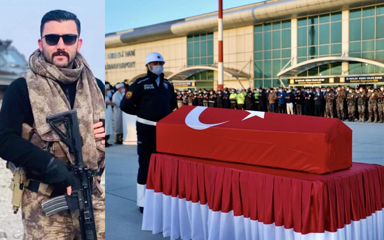 Ağrı'da şehit olan Özel Harekat Polisi Veli Kabalay memleketi Denizli'ye uğurlandı